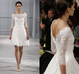 Monique Lhuillier Long Sleeve Wedding Dress NZ | Buy New Monique ...