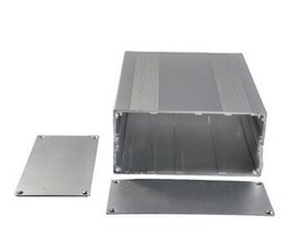 "$enCountryForm.capitalKeyWord NZ - Extruded Aluminum Box Split body Enclosure Case Project electronic 68*145*200mm 2.67""x5.70""x7.87"" sliver Aluminum Sase Sleeve"