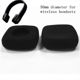 34d0992bea15e8 4pcs 50mm foam ear pad earpads headset ear cushions sponge pads cover 5cm  for Jaybird wireless headphones