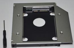 $enCountryForm.capitalKeyWord NZ - Wholesale- 2nd SATA Hard Drive HDD SSD Optical Bay Caddy For Asus N56VB n56vz-s4095v Replace uj8b0 DS8A9SH DVD