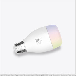 $enCountryForm.capitalKeyWord NZ - Wholesale-Led bulb light energy saving lamp e27 ZigBee mobile phone remote control with the music color change light bulb