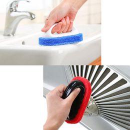 online shopping multi function kitchen bathroom cleaning sponges brush cleaning brushes handheld sponge bathtub ceramic tile