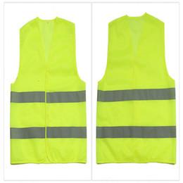 Venta al por mayor de Alta visibilidad Seguridad en el trabajo Chaleco de construcción Advertencia Trabajo de tráfico reflectivo Chaleco Verde Ropa de seguridad reflectante