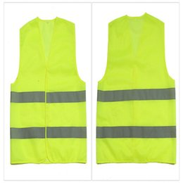 Alta visibilità di lavoro sulla sicurezza Edilizia Vest traffico d'avvertimento riflettente lavoro maglia verde Indumenti riflettenti di sicurezza in Offerta