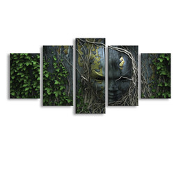 $enCountryForm.capitalKeyWord Australia - 5 Panel Alice Painting Canvas Wall Art Picture Home Decoration Living Room Canvas Print Modern Painting--Large Canvas Art Cheap SD-014