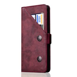 Flip Inside Wallet Australia - Case for Samsung S8 Note 8 Retro PU Leather Case Inside TPU Magnetic Flip case Mobile Phone back cover With Card Holder
