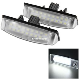 $enCountryForm.capitalKeyWord Canada - 2pcs 12V Car License Plate Light Auto White 24LEDS Lamp SMD3528 External Lights for Toyota Camry Echo Lexus IS LS GS ES RX