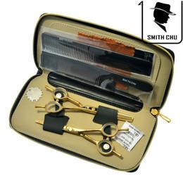 $enCountryForm.capitalKeyWord Canada - 5.5Inch SMITH CHU Hot Sell Barber Scissors Hairdressing Scissors Professional Hair Cutting & Thinning Scissors Hairdressing Salon, LZS0065