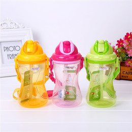 $enCountryForm.capitalKeyWord NZ - Child Straw Kettle Plastic Strap Colors Cup High Temperature Resistance Good Quality And Inexpensive Hot Sale 420ml 5 8xc I1 R