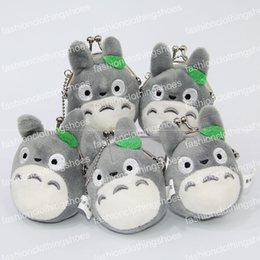 Discount toy buses for children - 3 Style 8X7CM My Neighbor TOTORO   Totoro Bus Plush Coin Bag Stuffed Animals Doll Toy For Child Gifts