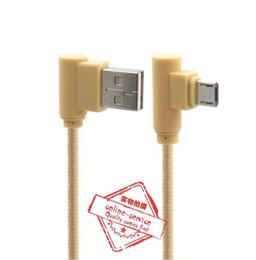 Mais novo 1 m cabo trançado com cabeça de ângulo de cotovelo cabo micro usb 2a cabo para samsung s7 s7edge s8 cinco cores para escolher venda por atacado