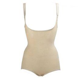 0e76f64593 Wholesale- New Women Slimming Shapewear Full Body Waist Trainer Shaper  Cincher Corset Bodysuit Hot