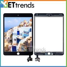 Für iPad Mini 3 Touchscreen Digitizer Assembly mit IC-Anschluss und 3M Adhesive Attached Grad AAA DHL-freies Verschiffen AA1553 im Angebot