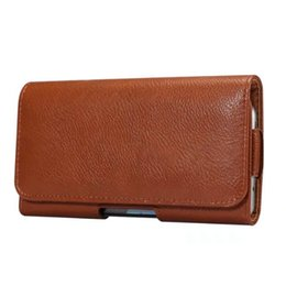 Leather Belt Holster Case UK - Universal Horizontal Hip Holster Leather For Iphone 7 Plus 6 Plus Galaxy S8 Plus Wallet Flip Waist Belt Clip Pouch Case Abstract Sports