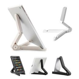 $enCountryForm.capitalKeyWord UK - Universal Portable Adjustable Fold-up Stand Holder For iPad mini pro Samsung galaxy tab LG Tablet PC Kindle Fire Asus Retailpackage Soundmae