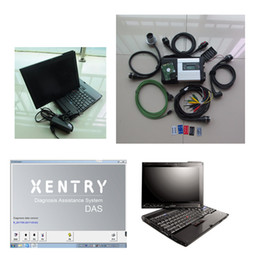 mb star tool Canada - MB Xentry Diagnostic Tool WIFI MB Star C5 SD Connect 5 with software v2017.05 latest hdd with laptop x200t touch screen
