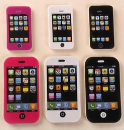 2016 hot salt iphone telefone móvel Bonito Kawaii Jogos Eraser Adorável Colorido Eraser para Crianças Estudantes Item Criativo Presente