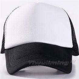 b8ec5f32 10 colors Kids Trucker Cap Adult Mesh Caps Blank Trucker Hats Snapback Hats  Acept Custom Made Logo
