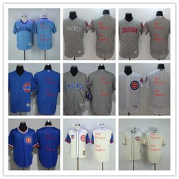 4472d4f8ce6 Customized Jerseys Stitched Chicago Cubs Flexbase or Majestic or Women or  Kids any player number any ...