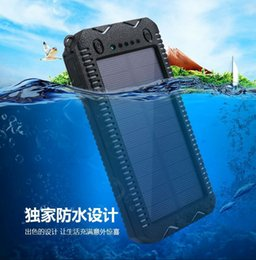 manufacturer laptop 2018 - The new solar mobile power supply waterproof solar charging treasure mobile phone universal charger manufacturers direct