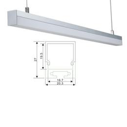 $enCountryForm.capitalKeyWord NZ - 100 X 1M sets lot Al6063 U Shape aluminum U channel and square type alu led profile extrusion for pendant or suspension lamps