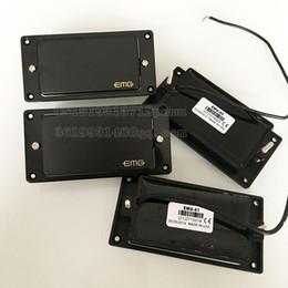 En stock Guitarra eléctrica EMG Passive packup Negro 81/85 Pastillas Envío Gratis en venta