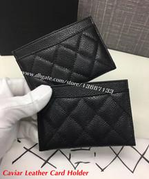 $enCountryForm.capitalKeyWord Canada - 2018 Fashion Women's Card Holders Black Lambskin Mini Wallets Coin purse pocket Interior Slot Pocket Genuine Leather Camellia Card Holder