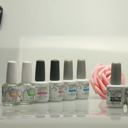 Mejores Uñas De Capa Base Baratos-100 unids productos superventas Soak Off Uv Gel Polish para el arte del clavo Harmony Gelish Base Coat capa superior