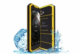 Tri sim android quad core online shopping - Kenxinda W7 IP68 Inch waterproof smartphone Android dual SIM dual camera G LTE Quad core GB GB MP rugged mobile shockproophone