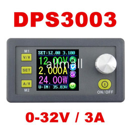 $enCountryForm.capitalKeyWord NZ - Freeshipping DP30V3A Upgraded version Programmable Power Supply Module Buck Voltage current Converter LCD Display Voltmeter DPS3003 50% off