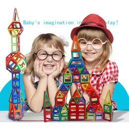 $enCountryForm.capitalKeyWord Canada - 100PCS Building Blocks Magnetic construction magnetic Designer Toys For Kids model build kits Magnetic Building Blocks