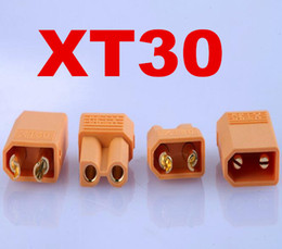 $enCountryForm.capitalKeyWord Canada - new arrive 100 pairs XT30 Male Female Bullet Connector Plug Gold Plated Banana For RC Quadcopter Li-on Battery