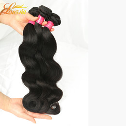 Discount natural wave weave - Factory Hair Brazilian Body Wave Hair 3 Bundles Brazilian Body Wave Human Hair Natural Color 100g Unprocessed Wholesale