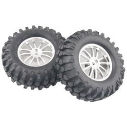 $enCountryForm.capitalKeyWord UK - 4x Aluminum Wheel Rubber Tires Sponge Rim RC Climbing Car Racing 123S-7006