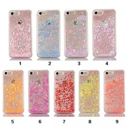 China Fashion Transparent Fun Glitter Star Quicksand Liquid Phone Back cover case for iphone 7 6 6s plus Samsung S6 S7 S7 edge cheap iphone s6 glitter suppliers