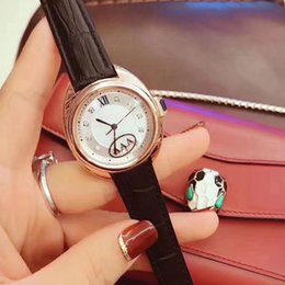 girls watch stone 2019 - High quality brand women watches luxury Rhinestone dial Leather strap Dress quartz watch for ladies girl female best gif
