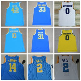 8784bbff55a ... 2017 ucla bruins college basketball jerseys 0 russell westbrook 14 zach  lavine 2 lonzo ball 33 . ...