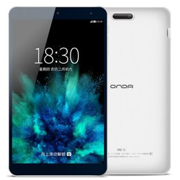 Discount chinese tablets onda Wholesale- 8.0 inch 1920*1200 Onda V80 SE Tablet PC Intel Z3735F Quad-Core 64-bit 1.83GHz ROM 2.0 Android 5.1 RAM 2GB RO
