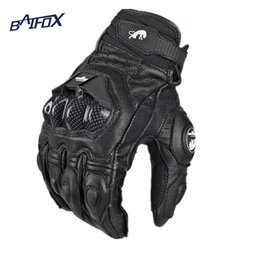 Großhandels- Heißer Verkauf Coole Motorradhandschuhe moto racing handschuhe ritter leder fahrt fahrrad fahren fahrrad radfahren motorrad im Angebot
