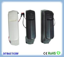 Vente en gros vélo électrique 750w 500w 1000w down pack batterie 48V 12.8ah sortie USB 48V 12ah et chargeur