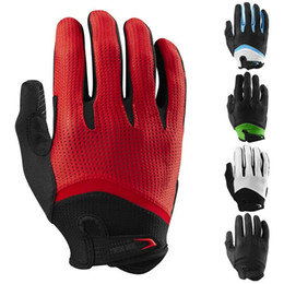Gloves bicycle Gel online shopping - Men s Full Finger Cycling Gloves Gel Pad Guantes Ciclismo Road Mountain Bike MTB Gloves Long Finger Bicycle Downhill Long Glove