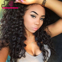Discount bangs for african american hair - greatremy wigs human hair glueless lace front wigs for black women peruvian full lace curly wig with bangs african ameri