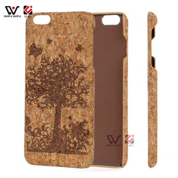 $enCountryForm.capitalKeyWord UK - Top sale China Suppliers Factory Cork Wood Carved Painting Phone Case for iPhone 7 Plus Premium Cell Phone Accessories