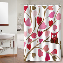 discount curtains tree print wholesale new design factory custom linen fabric print plant colorful tree shower