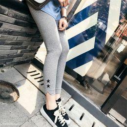 $enCountryForm.capitalKeyWord Australia - 2017 Autumn Capris Women Skinny Organic Cotton Stretch High Waist Leggings Pants Outer Fit Free Size 2 Colors