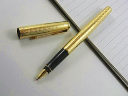 golden pen nibs 2019 - Writing metal Sonnet Golden Plate 0.5MM Nib Rollerball Pen