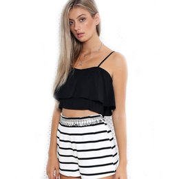 7470886d790 2016 new brandy melville tops spaghetti strap ladies camisole black white lace  bralette sexy tank top women summer crop top