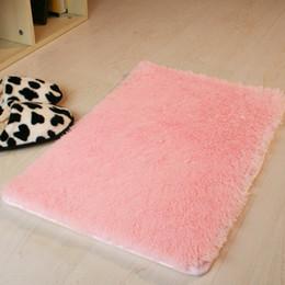 2018 Pink Bathroom Rugs Wholesale  40*60cm Microfiber Bath Mat Rugs Dark  Gray Purple