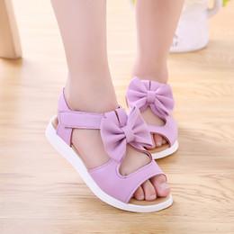 Girls Sandal Canada - Girls Korean version 017 summer new children's beach shoes, baby shoes, big children, student sandals