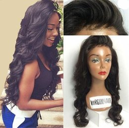 $enCountryForm.capitalKeyWord Australia - Brazilian Full Lace Wigs With Baby Hair 7A Human Hair Wig Body Wave Full Lace Human Hair Wigs Glueless Lace Front